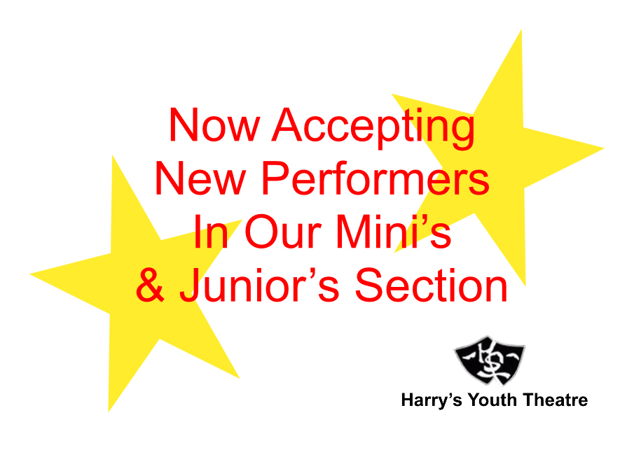 Spaces Available In Our Minis & Juniors Section