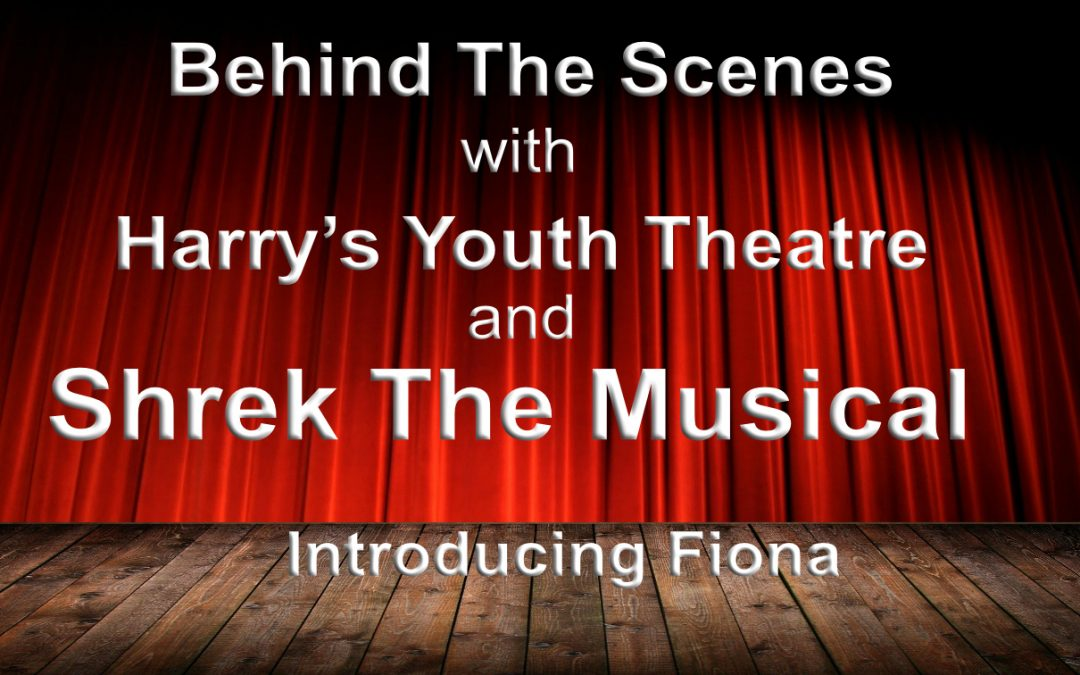 Behind The Scenes introducing Princess Fiona