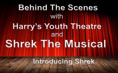 Behind The Scenes introducing Shrek